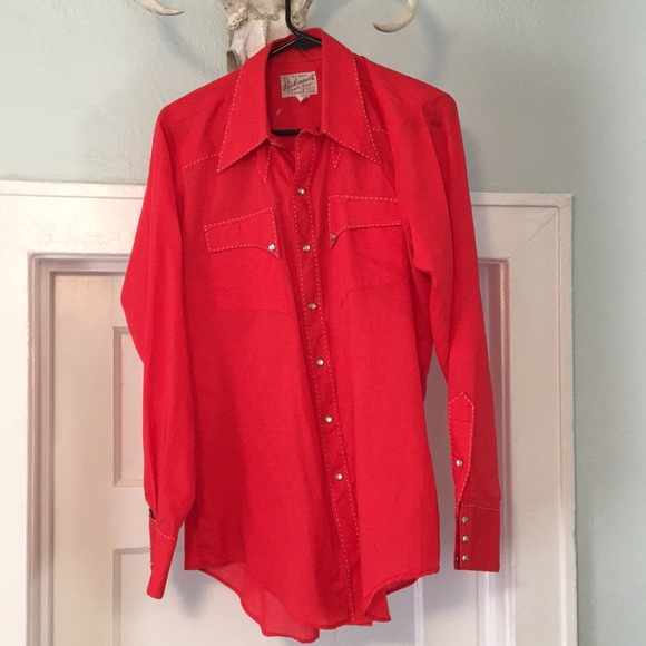 d3e0533fde Vintage Rockmount pearl snap western shirt. M 5b70d386619745c6b262d789